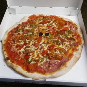 Pizza piperade - Pizzeria Villefranche