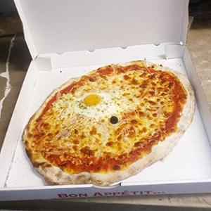 Pizza provençale - Pizzeria Villefranche