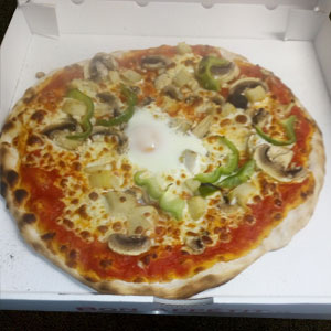 Pizza 4 saisons - Pizzeria Villefranche