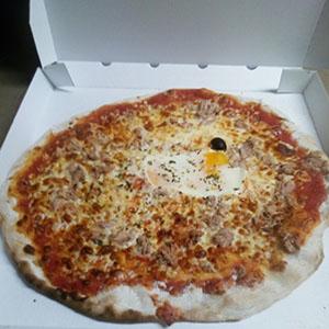 Pizza au thon - Pizzeria Villefranche
