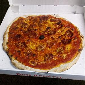 Pizza vesuve - Pizzeria Villefranche