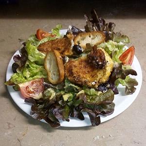 Salade chevrette - Pizzeria Villefranche