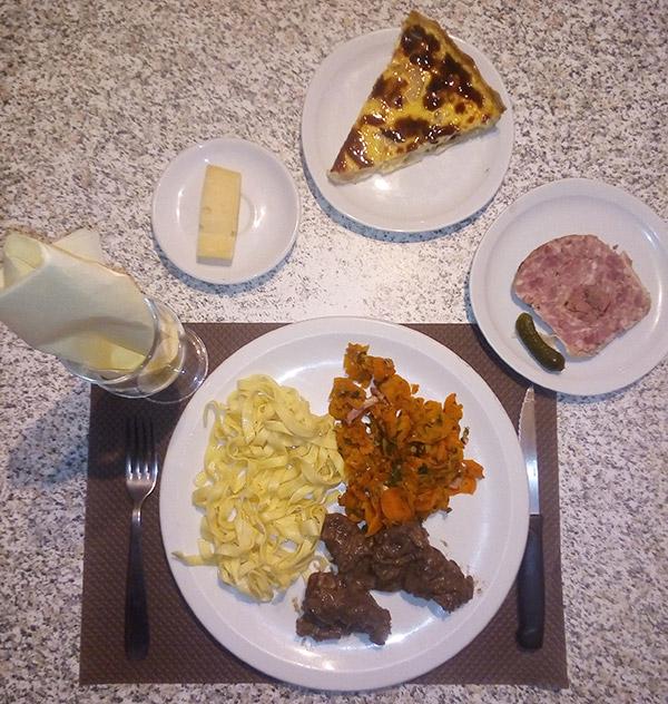 Exemple panier repas